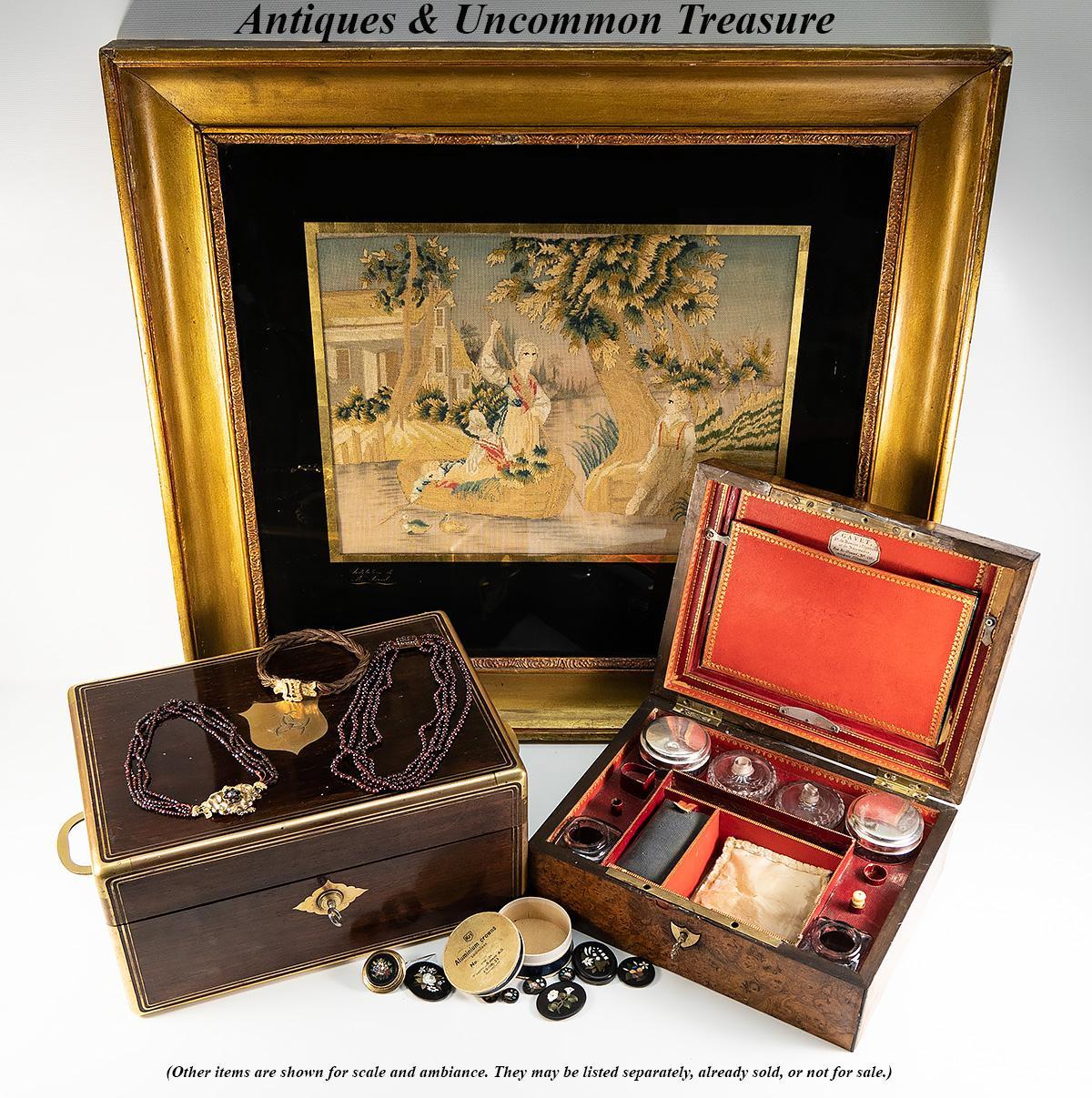 Ambiance Et Style Poitiers aucoc aine paris antique french dressing box, casket, crest of diane de  poitiers   ebay