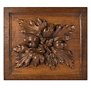Stunning Antique French Carved Wood Panel, Suitable to Frame or Use in Cabinetry