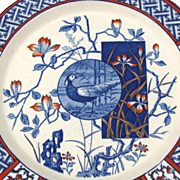 "Additional images for 417rmints, 30pc Antique Minton ""Faisan"" Imari Plate Set"