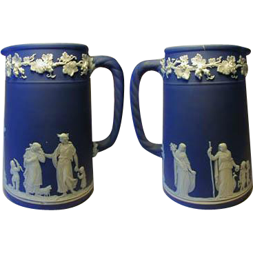 Fine 1900s Wedgwood Jasperware Syrup Pitcher