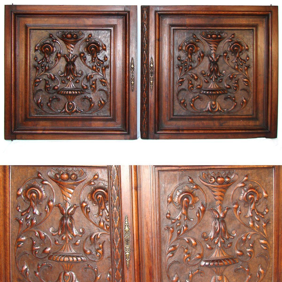 PAIR Antique Victorian 25x25
