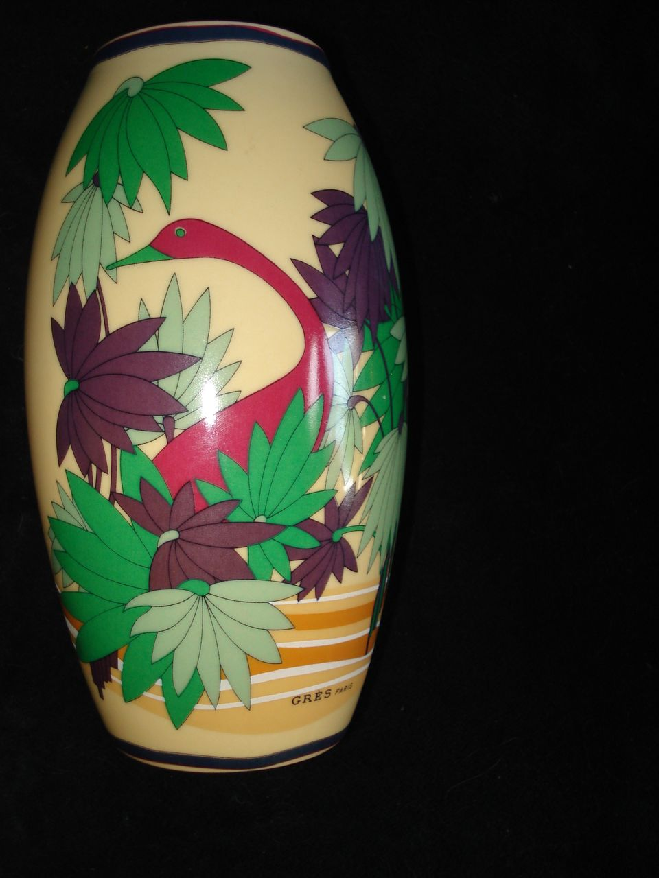French Vase Signed Boyer