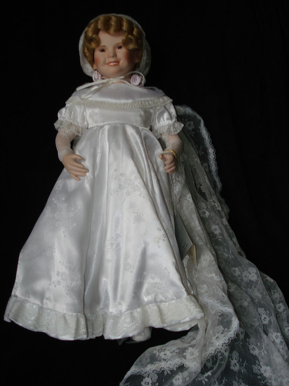 """Vintage Shirley Temple """"Curly Top"""" Doll"""
