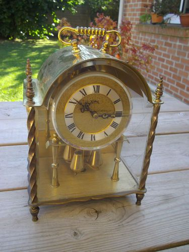 Vintage 400 Day German Koma Clock