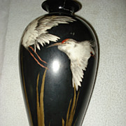 Belleek Kingfisher Vase