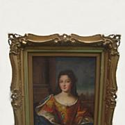 Russian Painting Of Maria Anna Bavaria