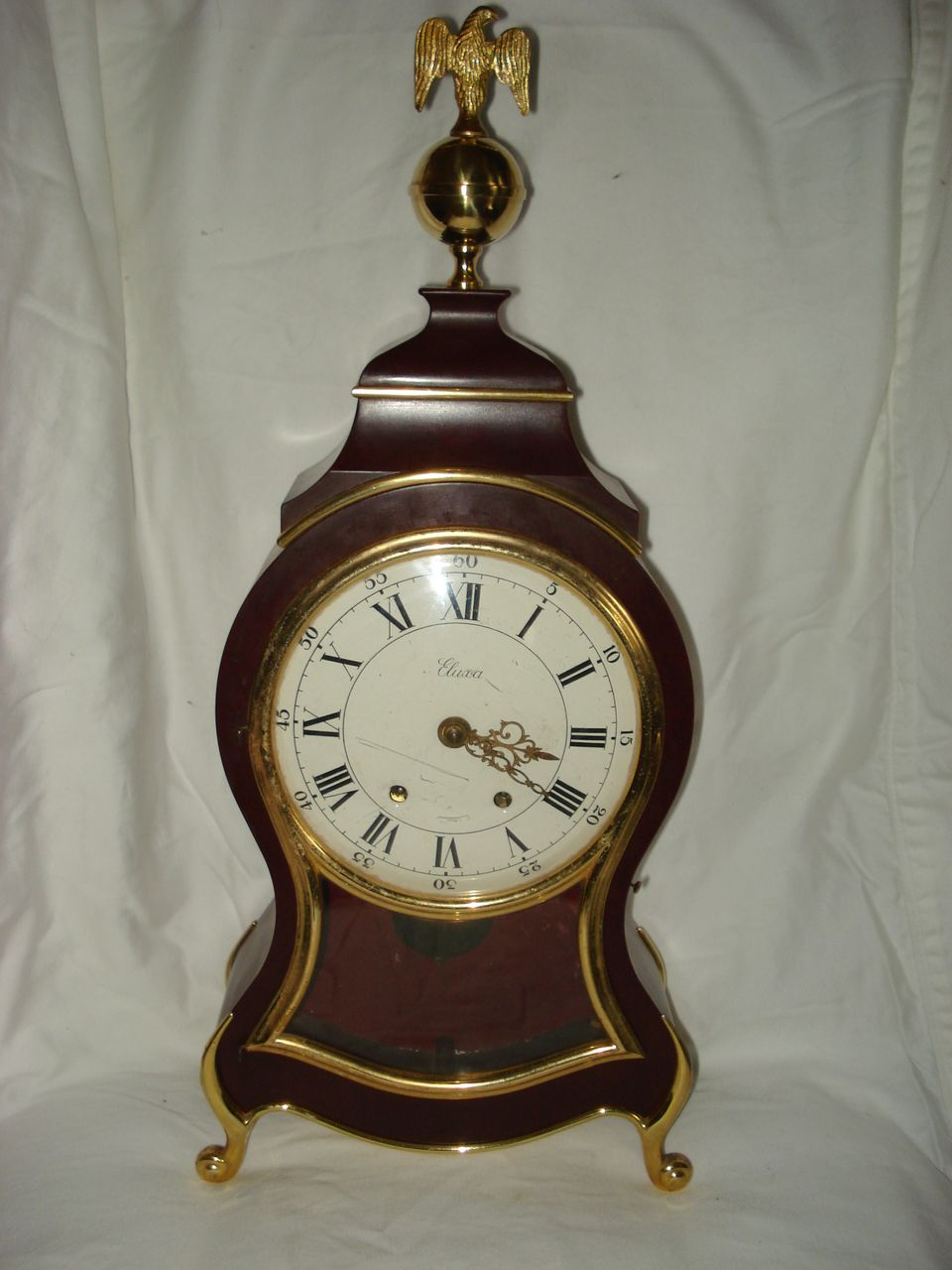 Vintage French Cartel Wooden Clock