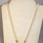 Nolan Miller Faux Pearl Necklace (retired)