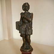 French Bronze Statue of William Shakespeare