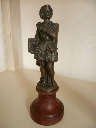 French Bronze Statue of William Shakespeare