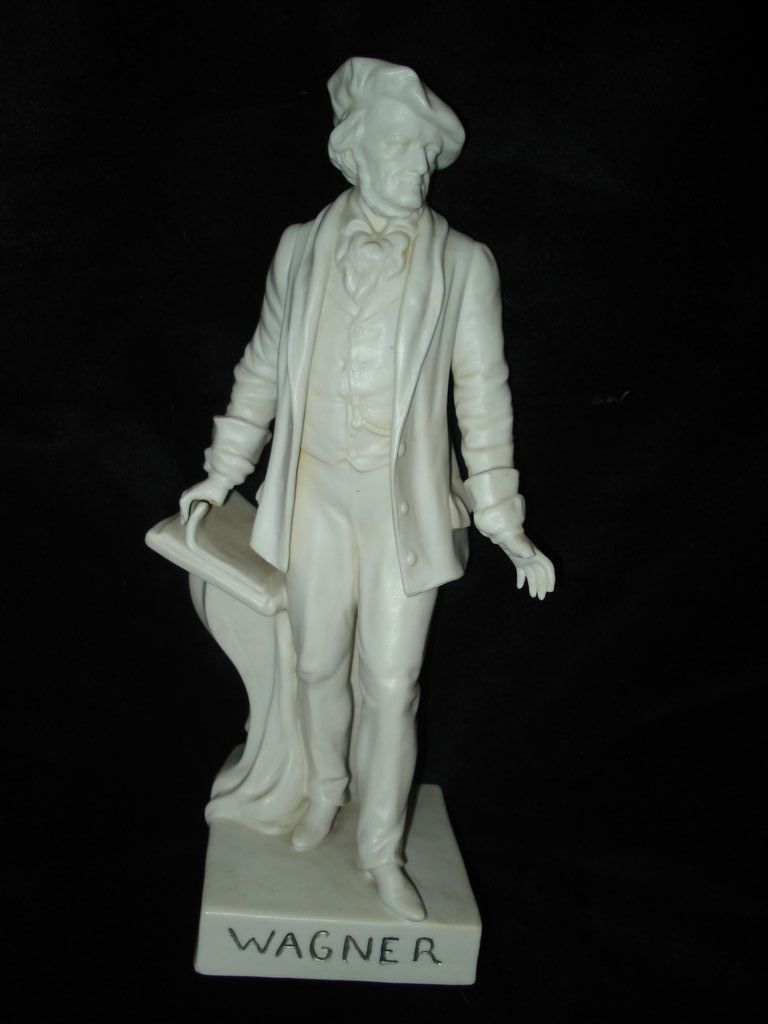 Parian Figure of Wagner