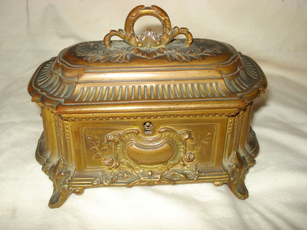 Bronze Louis XVl Ornate Box