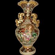 Royal Satsuma Figural Vase