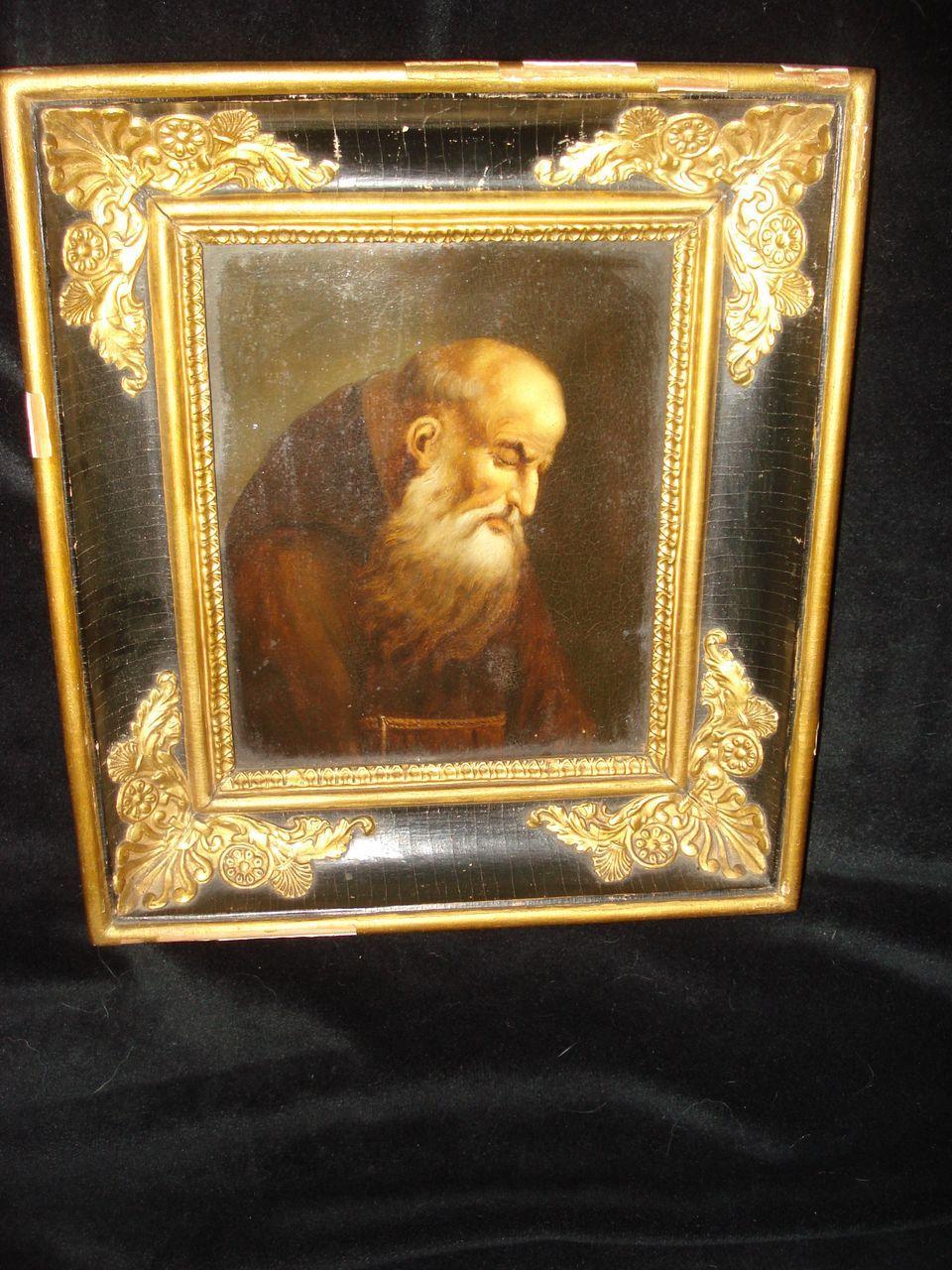 Old Master Monk In Meditation