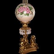 Vintage Electric Figural Cupid Lamp