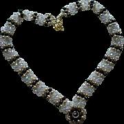 Swarovski Crystal Necklace and Bracelet