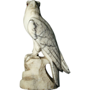 Alabaster Italian Carved Eagle