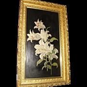 Oil Painting Floral Motif