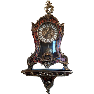 French Cartel Wall Mantel Clock