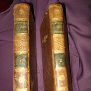 Antiquarian 2 Volume Set History Of  Marie Antoinette 1814