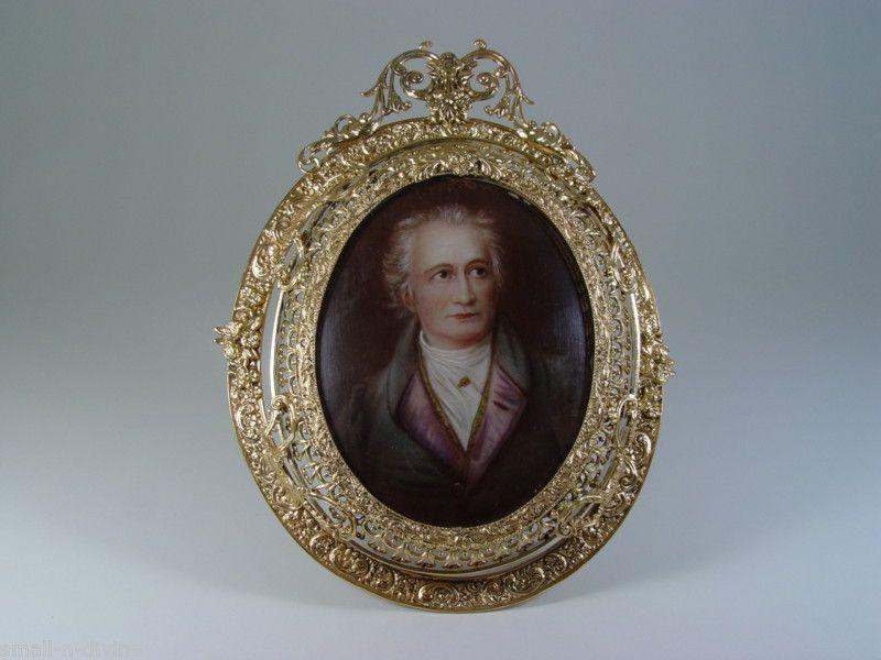 Miniature Portrait Of Johann Wolfgang von Goethe