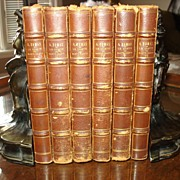 Antiquarian  French Series The Count of Monte Cristo by Dumas