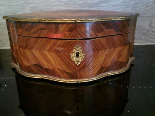 French Marquetry Inlaid Napoleonic Box