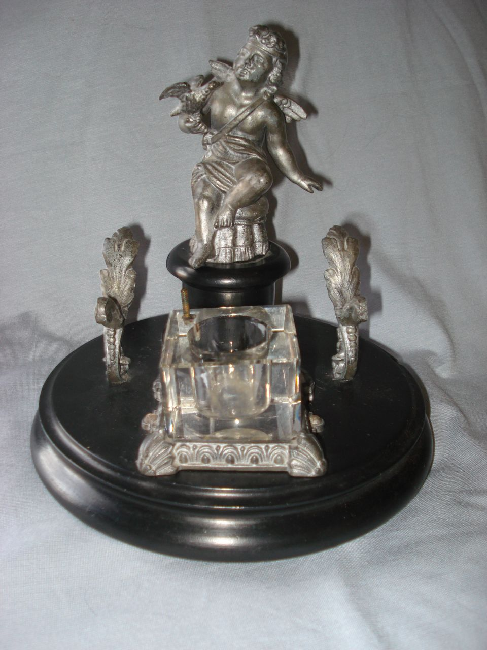French Cupid Inkwell