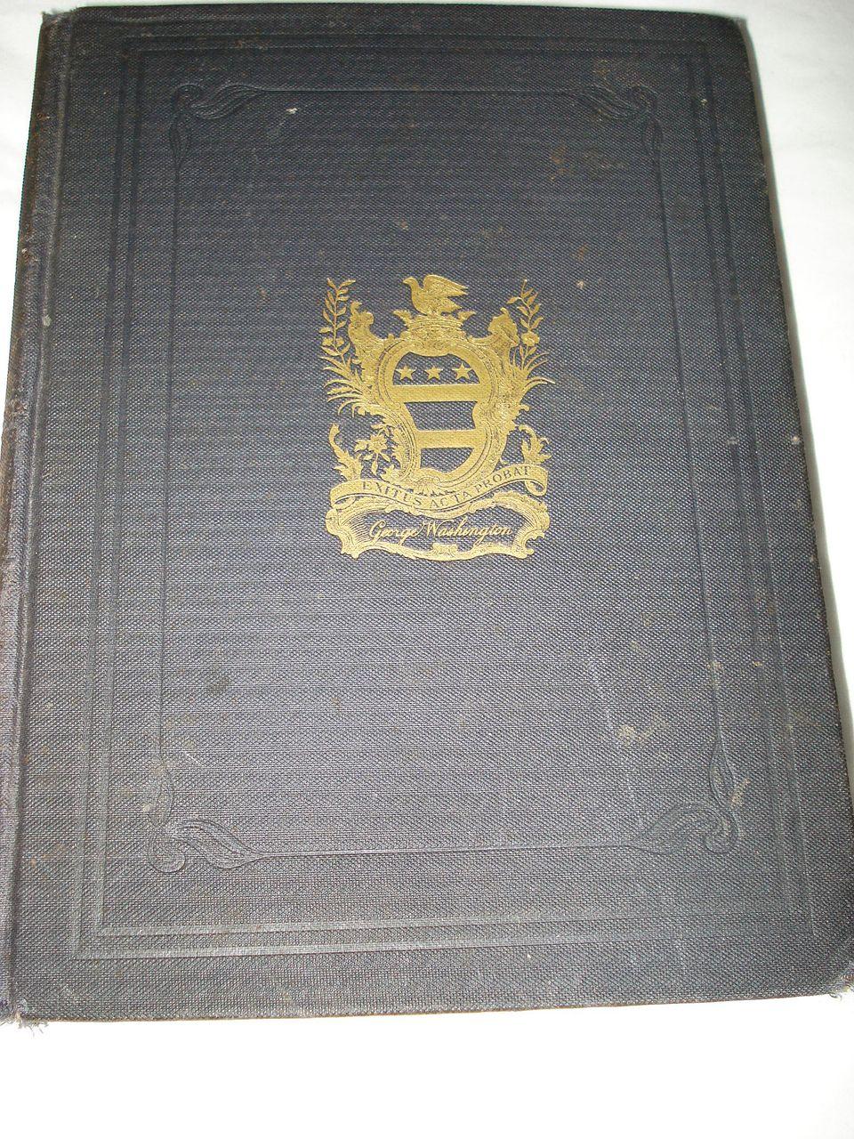 Antique Rare Book Washington The Man and The Mason