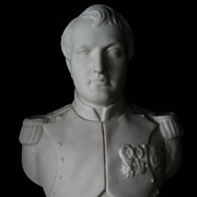 Parian Bust of Napoleon Robinson and Leadbeater