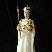 Royal Doulton Queen Elizabeth ll Coronation