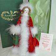Royal Doulton Peggy Nisbet Christmas Doll