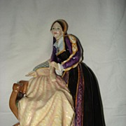 Royal Doulton Catherine Howard Ltd Edition Porcelain Queen  Of the Realm Collection