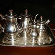Rogers  ROSE MARIE Tea Service