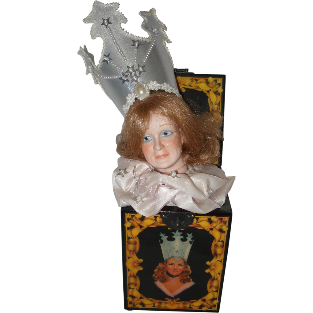 Wizard Of Oz Glenda Music Box