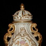 Royal Bonn Louis XV Pot Pouri Porcelain Urn