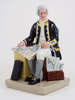 Royal Doulton Retired  Captain Cook HN2889