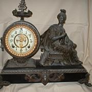 "Ansonia Open Escapement ""Victory ""Clock"