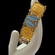 C1970 French Souvenir Tourist Bracelet