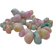 Blue Hawaii Seashell Necklace c1960
