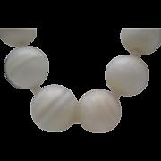 Italian Marble Necklace c1980