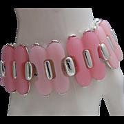 Mid Century Coro Plastic Bracelet 1960