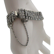 Prong Set Rhinestone Tennis Bracelet
