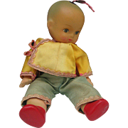 C1940 Composition Chinese Boy Doll