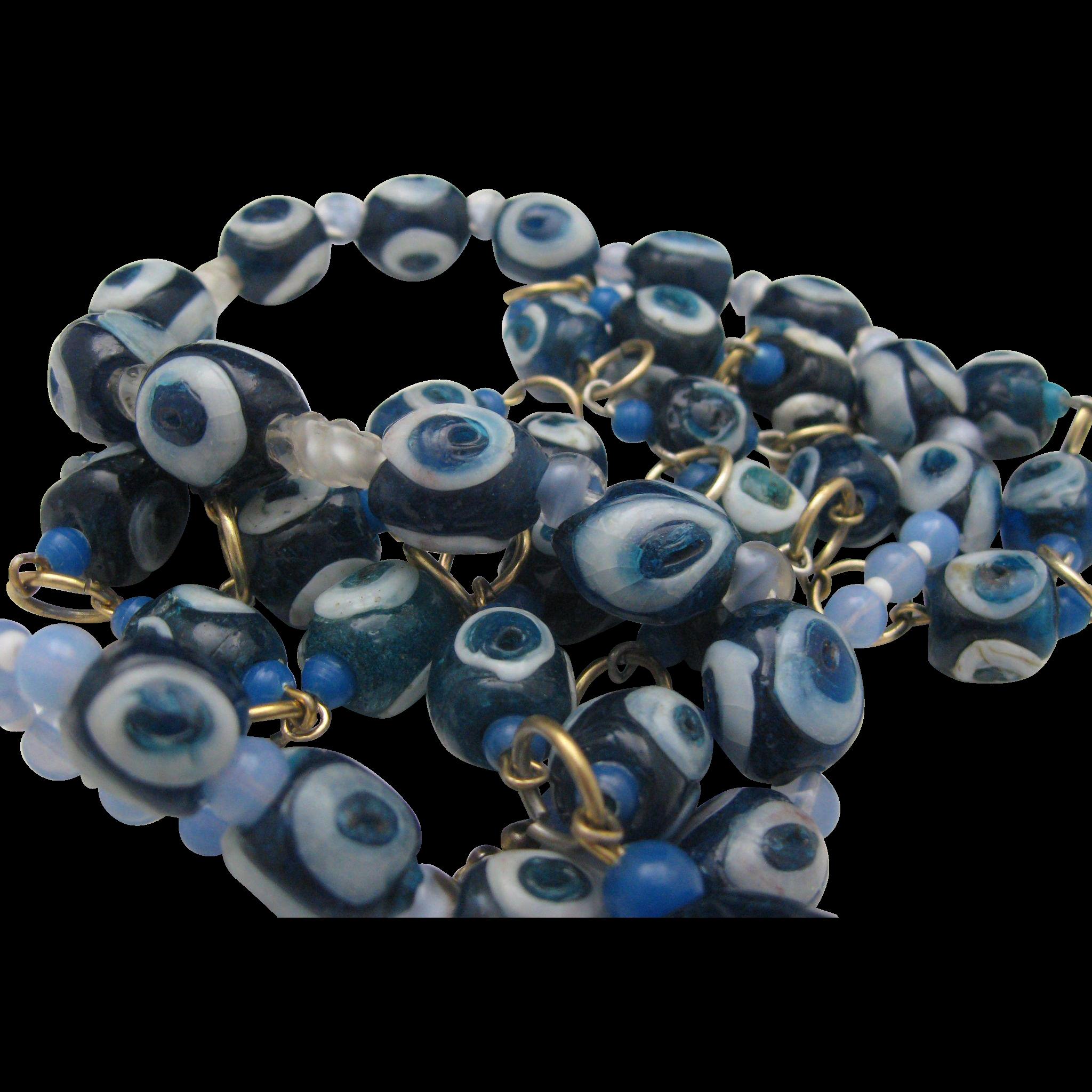 Venetian Lampwork  Trade Beads Necklaces