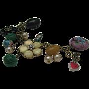 Funky Cloisonne Charm Bracelet