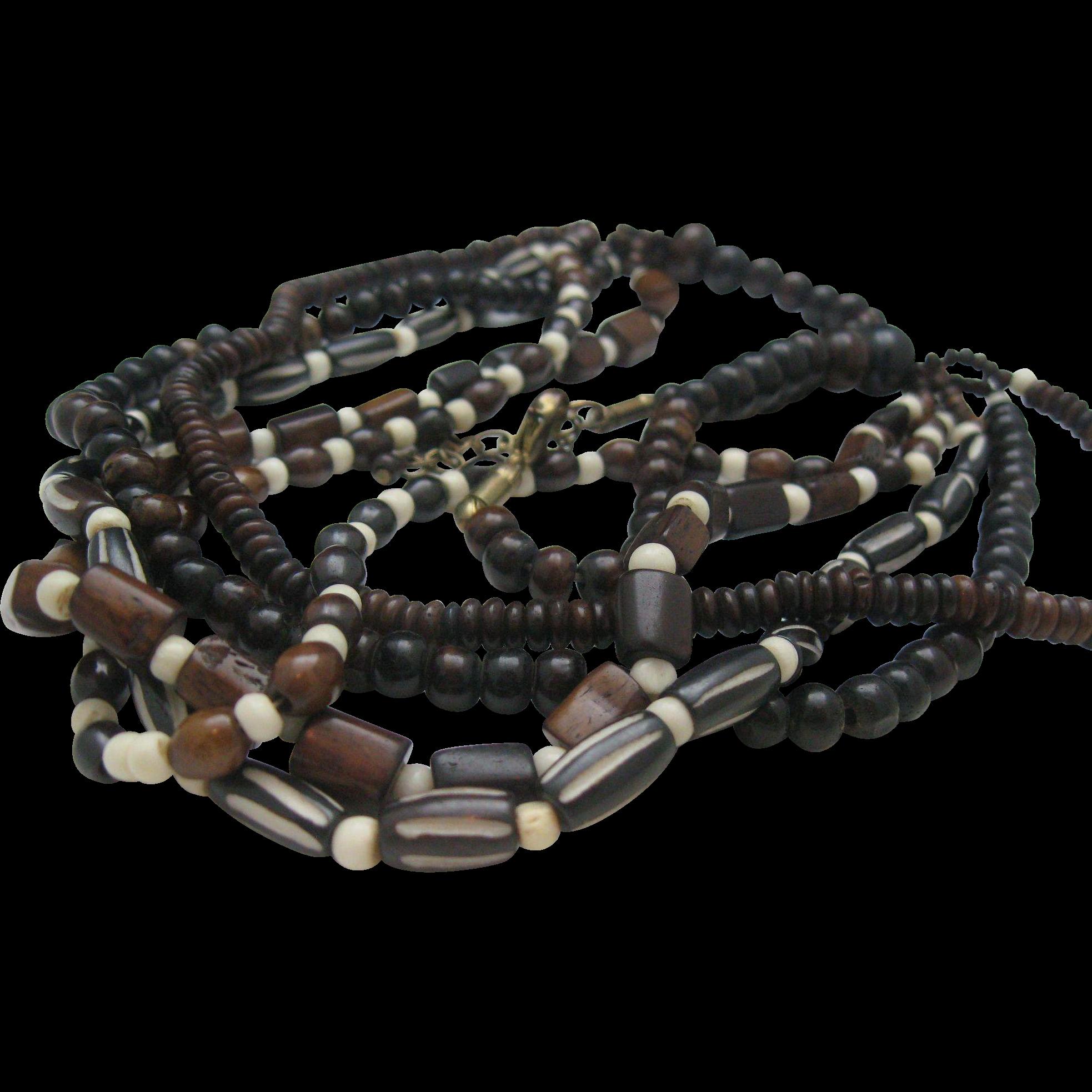 Monies Style Bone Necklace