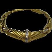 Oscar de La Renta Gold Toned necklace