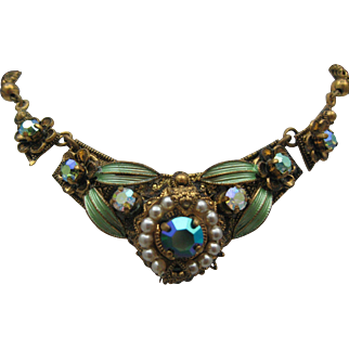 Austro-Hungarian Paste Necklace