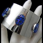 Sarah Coventry Space Age Glass Bracelet